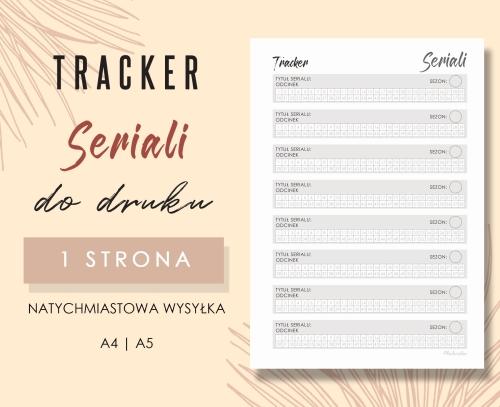 Tracker seriali Wzór 01